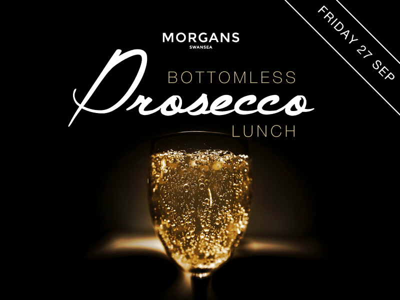 BOTTOMLESS PROSECCO LUNCH